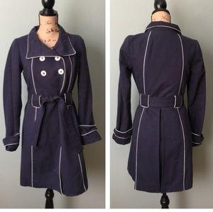 Jackets & Blazers - Navy coat